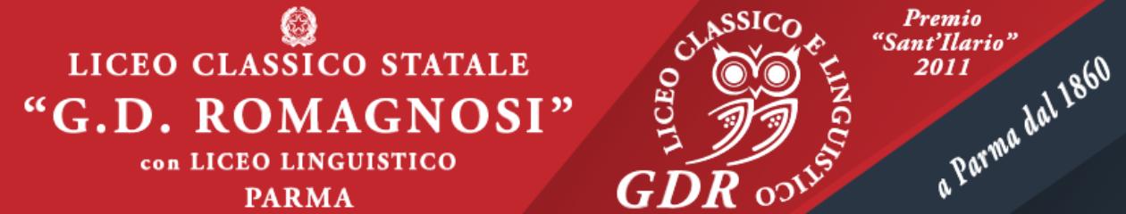 """Liceo Classico e Linguistico """"Giandomenico Romagnosi"""" – Parma"""