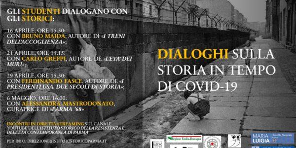 Dialoghi sulla storia in tempo di Covid-19